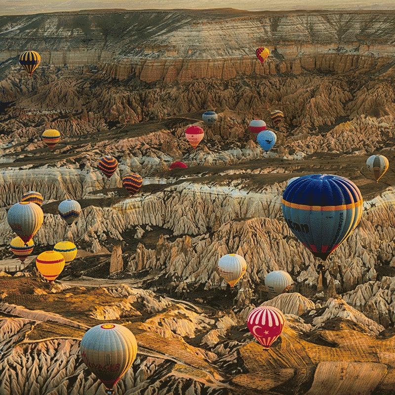 Un tur inedit | Cappadocia