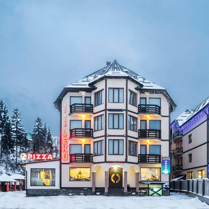 Villa Leku Spa Resort 3*/Ucraina