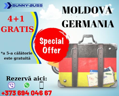 OFERTĂ SPECIALĂ / 4+1 GRATIS